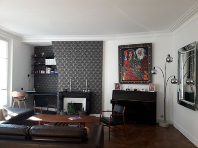 Photo for Newly renovated 4 bedroom apartment waking distance to the Eiffel Tower