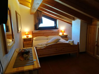 Photo for Romantic attic ELOIS 5 km from PILA