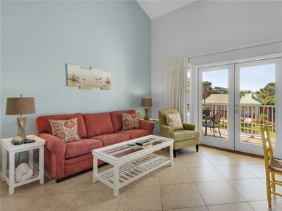 Photo for Roomy 2BR Condo, Steps from the Beach, and Perfect for Couples!