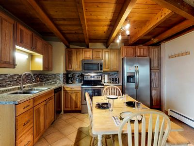 Photo for Mountain view home w/ a shared pool, sauna, hot tub, fitness room, & game room