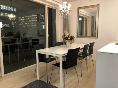 Photo for Scandi cool designed flat with all you need for a comfortable stay!