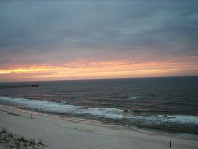 Photo for Beachfront 2 Bedroom  2 Bath Bunk Beds Sleeps 8 Top Flr Corner Unit NO VRBO FEES