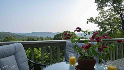 Enjoy the view overlooking the Ozarks.
