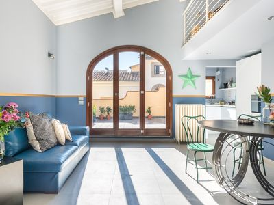 Photo for Apartment with Terrace in Piazza Strozzi