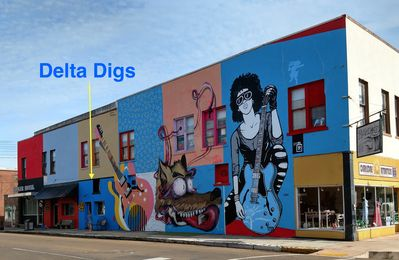 Delta Digs - 'The Place To Lay It Down In Clarksdale'