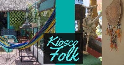 Kiosko Folk Hostal 1 Bedroom with Bathroom in front of Isla Mujeres Ferry KIO1