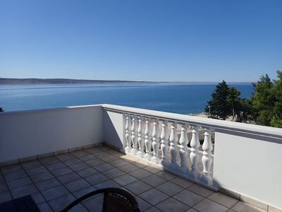 Photo for Apartments Bili-with the beautiful seaview (41539-A3) - Starigrad Paklenica