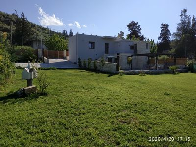 Photo for NEW! Renaissance Modern stone home at Chania Vryses - First rental - Independent