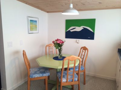 Eat in kitchen with seating for 4