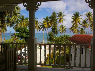 2 bedrooms apartament in front of the sea