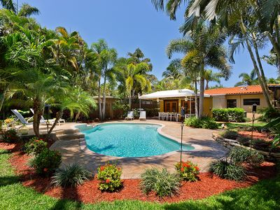 Photo for VERY PRIVATE relaxing Fort Lauderdale home w/pool