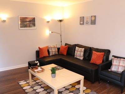 Photo for Deluxe 2 bedroom apartment with off street parking