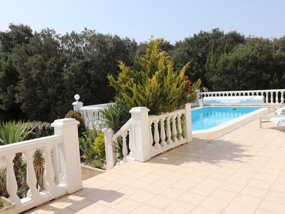 Photo for 4-star **** villa with heated salt pool in the heart of the Gorges de la Cèze