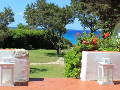 Photo for Villa in Villasimius beach front with 8 sleeps air conditionning and WIFI