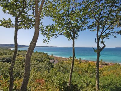 Photo for Incredible Lake Michigan views from this 2b/2b condo in Glen Arbor!