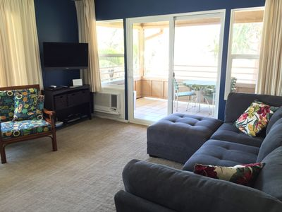 Photo for Great Spring Rates | Ocean View | Casual Comfort across from small quiet beach