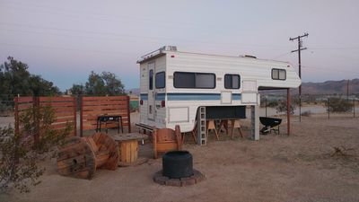Photo for Glamping at Coyote Sunset in Joshua Tree 3 miles Village to and Visitor Center