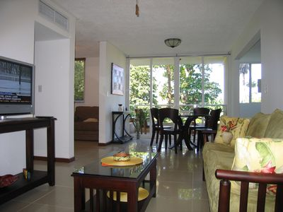 Photo for Beautiful elegant condo is just 300 meters away from the beach