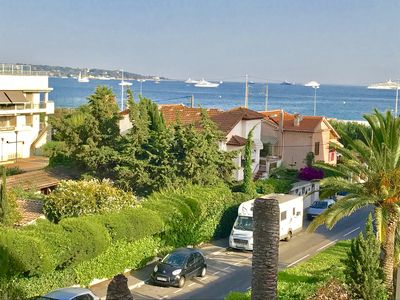 Photo for nice apartment near the beach, with magnificent sea view terrace