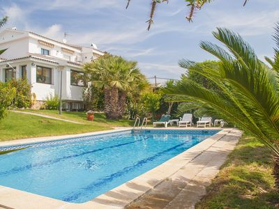 Photo for Club Villamar - Very spacious villa with a big outside area with private pool, barbecue, ping pon...