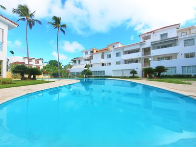 Photo for Los Corales. Close to Everything. Free WiFi, pool, parking. La Terraza D2b2