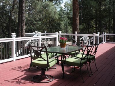 Photo for FAMILIES AND FRIENDS GET AWAY IN THE PINES