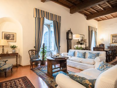 Photo for Roman Holiday apartment for 6 by Piazza Navona