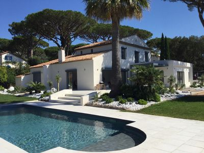 Photo for Luxurious new villa facing St Tropez