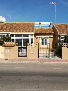 Photo for Holiday home with large roof terrace and swimming pool for rent in Torrevieja