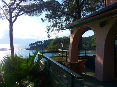 Photo for Luxury villa in Tellaro, in a context of wonderful beauty, directly on the sea.