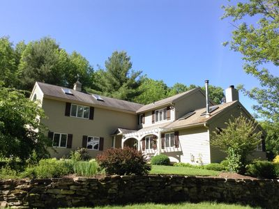 Photo for Beautiful Secluded Berkshires Mountain view home, family-friendly!