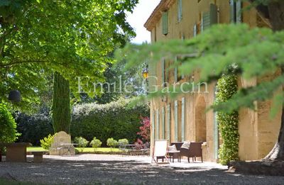 Photo for charming apartments in the heart of Provence - Heated Pool - Tennis