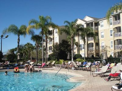 Photo for WINDSOR HILLS 2 BR CONDO IN BUILDING CLOSEST TO MAIN POOL!  LAKEVIEW UNIT 402-B!