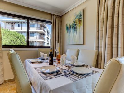 Photo for Falesia Beach 3 bedroom Apartment first floor with pool, near Falesia Beach.
