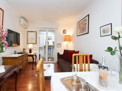 Photo for Apartment '' Prince of Wales '', elegant and comfortable in wooded area