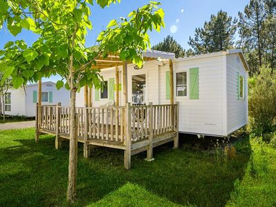 Photo for Camping Les Embruns **** - Mobile home 3 Rooms 6 People