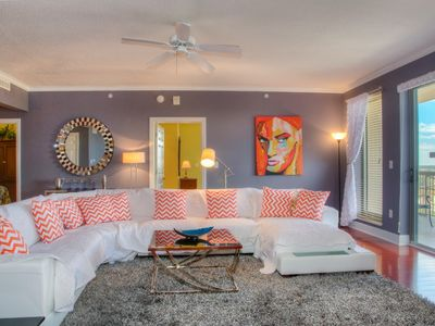 Photo for Sleek and Sophisticated, This Elegant condo Recently Renovated. Heated pool, Free wifi!