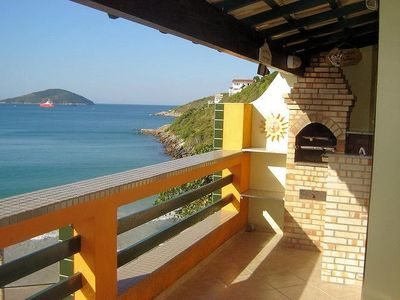 Photo for Beautiful house on the beach in Arraial do Cabo with a beautiful sea view -