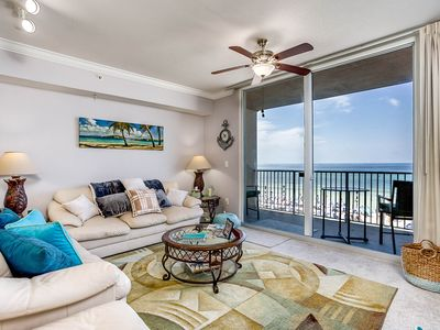 Photo for Spectacular -  Oceanfront condo from $75 a night - no extra administrative fees