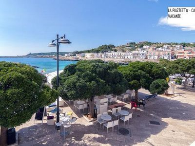 Photo for Holiday Apartment La Piazzetta - beachfront