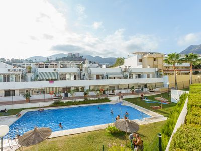 Photo for Holiday apartments in Benalmadena l Family, Pool, Parking