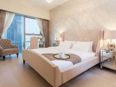 Photo for Luxurious One Bedroom Apartment, Central Park Tower, DIFC