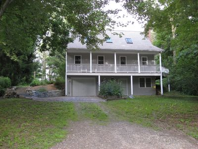 Photo for Charming House w/Private Beach Rights - Bashan Lake in East Haddam / academic