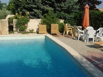 Photo for independent house tt comfort av access swimming pool & view of the Mont Ventoux (Vaucluse