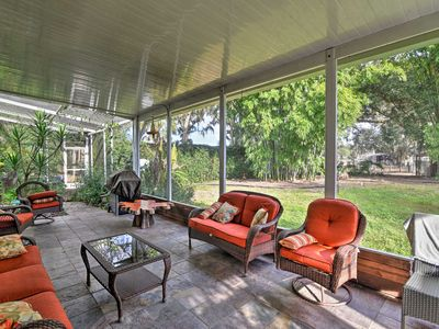 Photo for NEW! Webster Home in Animal Sanctuary w/ Pvt Pool!