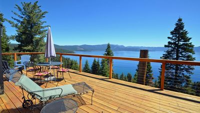 Photo for Great views of Lake Tahoe from this North Lake Tahoe home