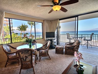 Photo for Papakea 1 BR Oceanfront  Corner Unit - Panoramic Views