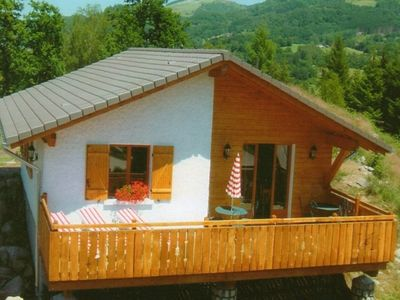Photo for Cozy chalet with a dishwasher, in the High Vosges