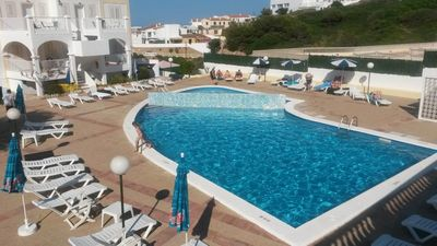 Photo for Centrally Located Holiday Apartment with Pool, Air Conditioning and Terrace
