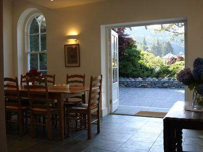 Rothay Lodge dining room